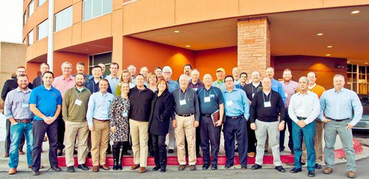 conference attendeees of Bainbridge Associates